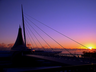 Dawn Over the Calatrava